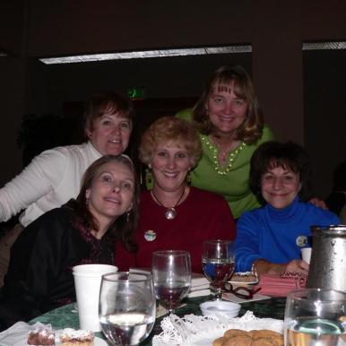 Lynne, Judy, Diane, Sheryl, Nora