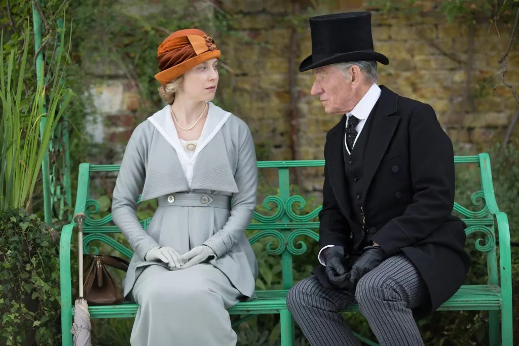ian-mckellen-hattie-morahan-mr-holmes-sherlock-movie