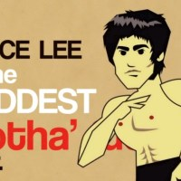 An Animated Breakdown of Why Bruce Lee was the Baddest Motha Ever...
