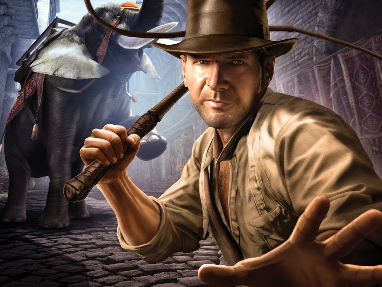 Nathan Drake Iphone Wallpaper Indiana Jones And The Staff Of Kings X Widescreen