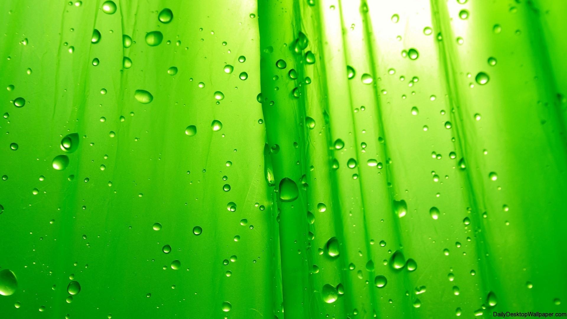 Raindrop Wallpaper Iphone X Green Raindrop Wallpaper Hd Wallpapers