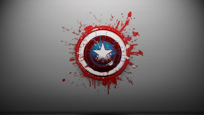 Captain America Logo wallpaper - HD Wallpapers