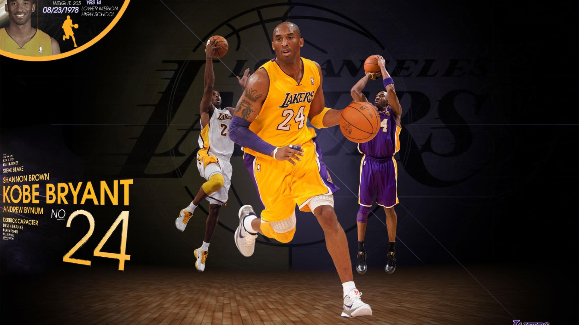Kobe Bryant Wallpaper Hd Kobe Bryant Lakers 2012 Wallpaper Hd Wallpapers