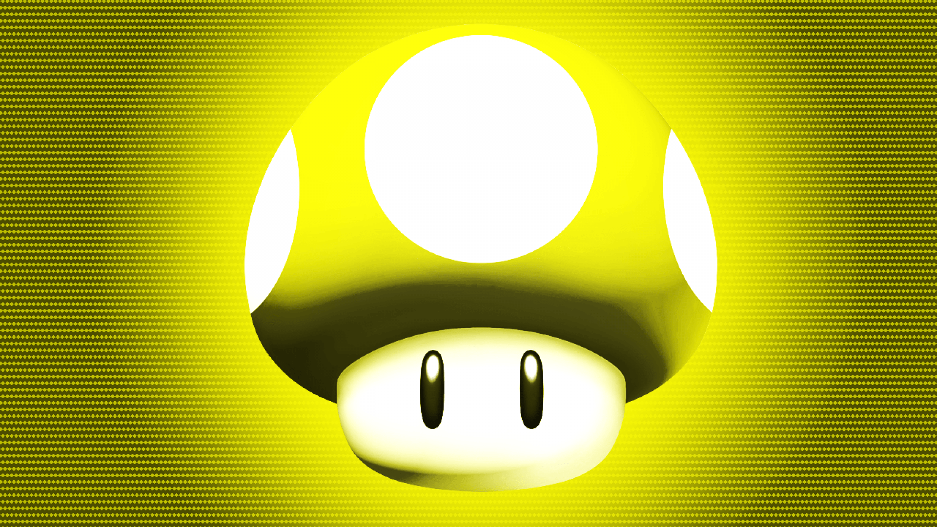 Super Mario Wallpaper Iphone 5 Yellow Mushroom Wallpaper Hd Wallpapers