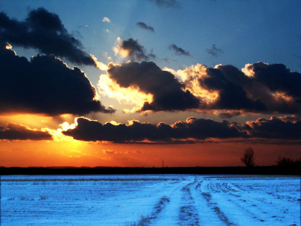 Hd Wallpaper For Laptop Full Screen Download Winter Sunset Hd Wallpapers