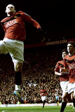 Manchester United Wallpaper Iphone X Wayne Rooney Manchester United Hd Wallpaper Hd Wallpapers