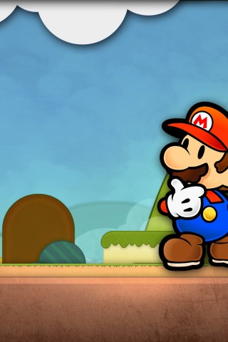 Iphone Wallpaper Waterfall Cartoon Mario Hd Wallpapers