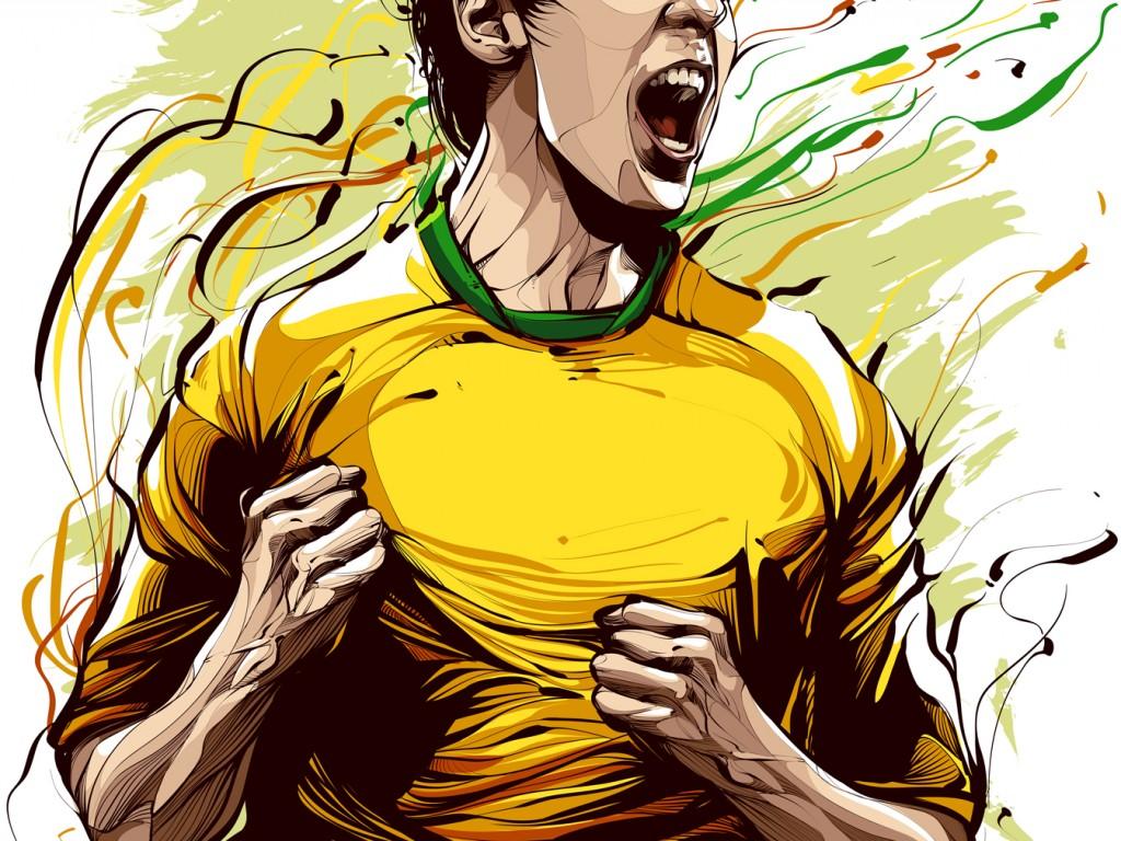 Ronaldo Hd Wallpapers Football Cristiano Siqueira Football Player Illustration Hd