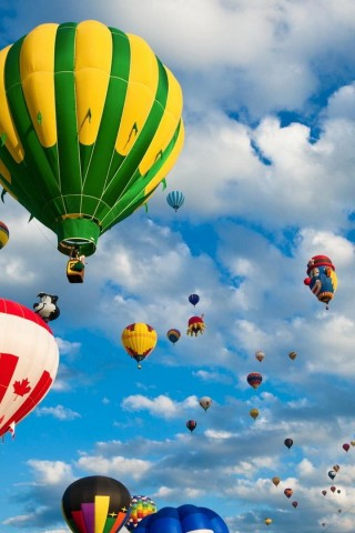 Country Hot Air Balloons - HD Wallpapers