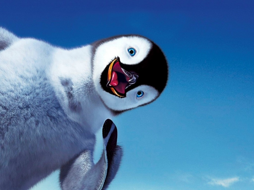 United States Wallpaper Iphone Adorable Cartoon Penguin Hd Wallpapers