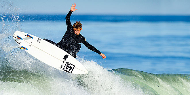 Surf School: Conner Dand National Surfing Association 2014 High School Surfing Champion