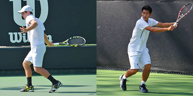 Tennis Duo: Eric Tseng and Drew Dawson Power Successful UHS Tennis