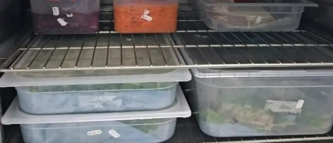 Using A Fifo Food Storage System Advice Checklist