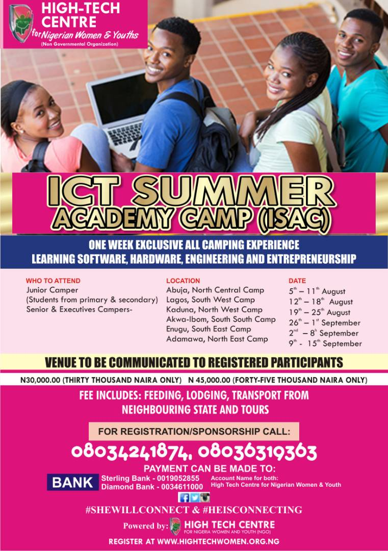ICT SUMMER ACADEMY CAMP