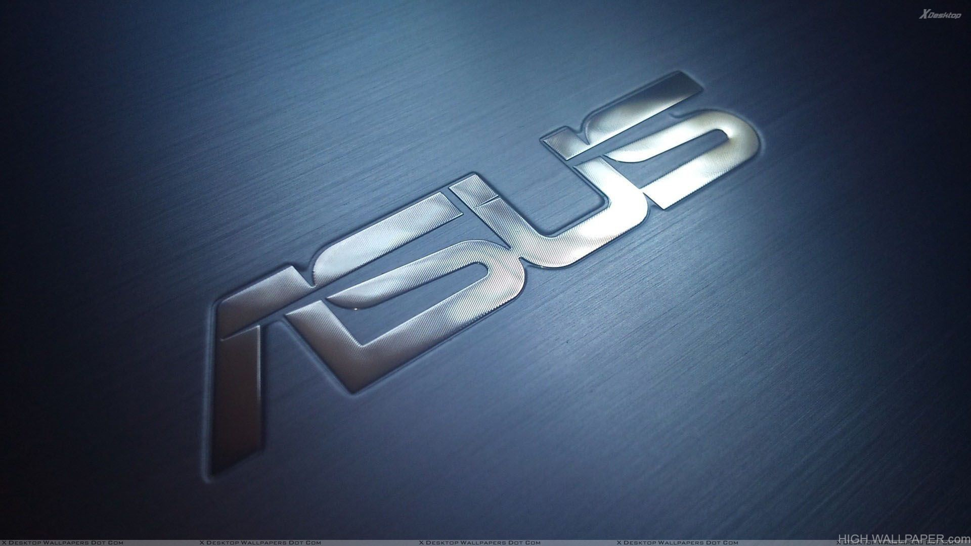 Pc Wallpaper 3d Hd Full Size Asus Logo On Blue Background Hd Wallpaper