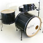 HighWood Custom, black satin oil, wood hoops