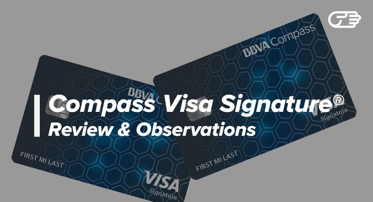 BBVA Compass Visa Signature Card Reviews - The Best Low-Interest Card?