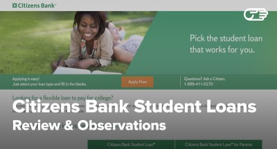 Citizens Bank Student Loans Reviews - Pros and Cons