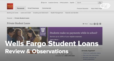 Wells Fargo Private Student Loans Reviews - Pros and Cons