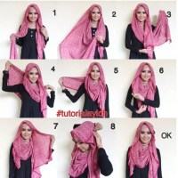 Trendy Hijab Style With Tutorial For 2017 - HijabiWorld