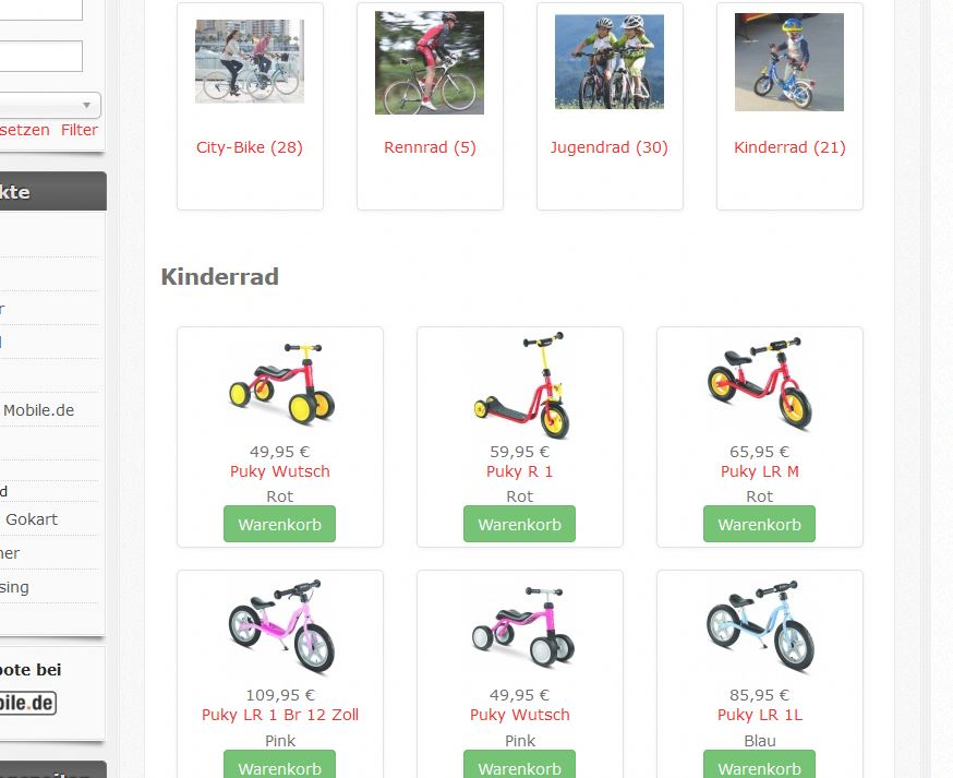 HikaShop - wrong display of product list on mobile devices using