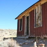 An abandoned home at Bodie State Historic Park