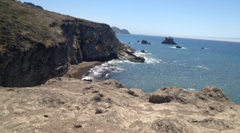 View to the south from Arch Rock