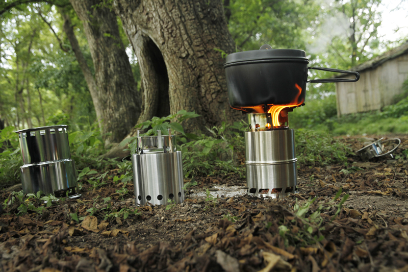 Apg Ultralight Wood Camp Stove Outdoor Cooking Firewood