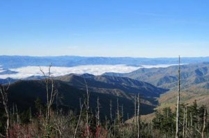 From Clingmans Dome