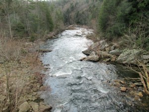 Clear Creek in Obed