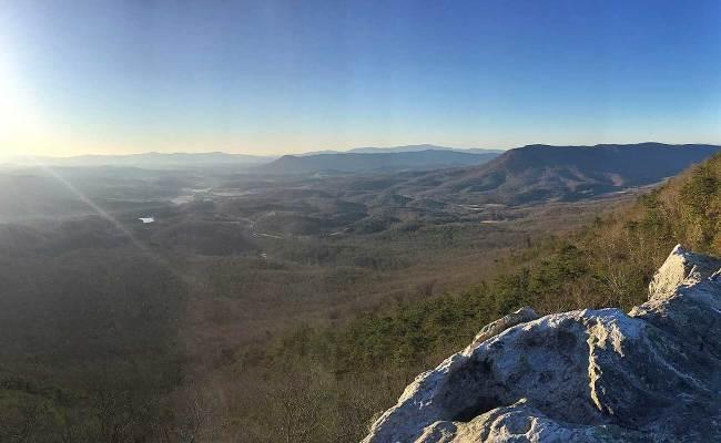 Hikingupward Panorama