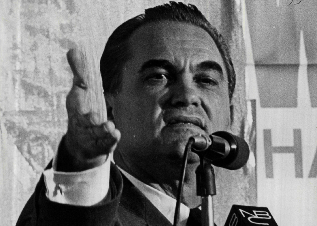 ALABAMA DEMOCRATIC GOVENOR GEORGE WALLACE