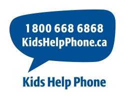 Kids Help Phone, 1 800 668 6868