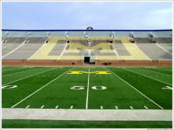 Michigan Football Stadium Field