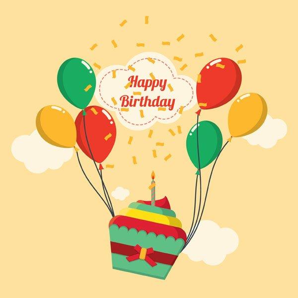 Fødselsdagskort - Sig tillykke med fødseldagen med disse flotte kort