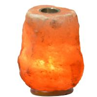 Pink Himalayan Rock Salt Lamp + Oil Burner 2-3kg ...