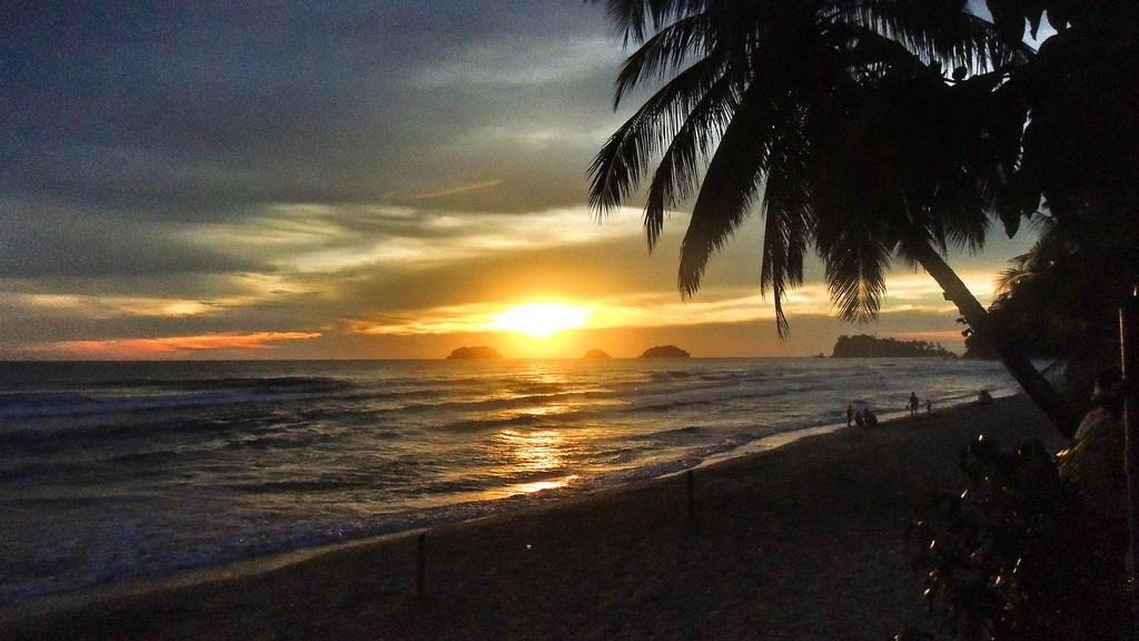 Sonnenuntergang auf Ko Chang