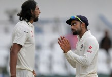 india vs bangladesh test match ishant-with-kohli