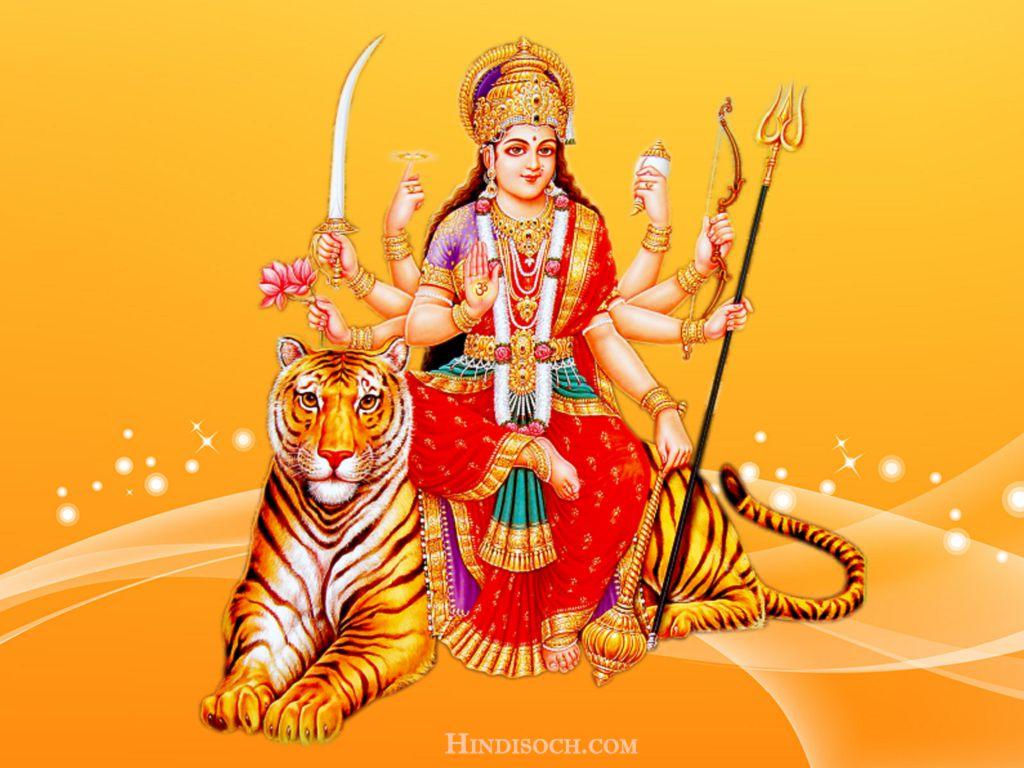 3d Wallpaper Jai Mata Di Maa Durga Image Hd Sherawali Maa Durga Wallpaper