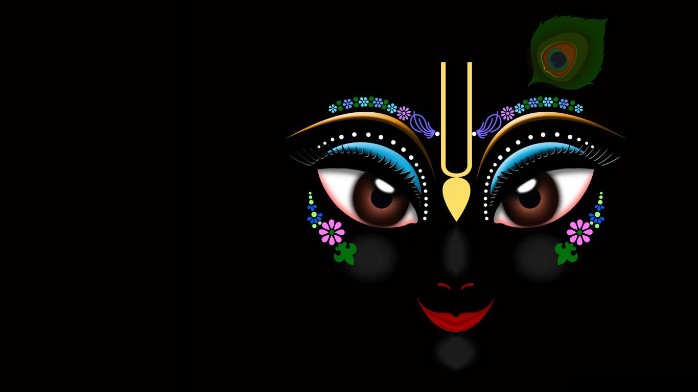 Lord Wallpaper Hd Download Black Lord Krishna Hd Wallpapers Free Download