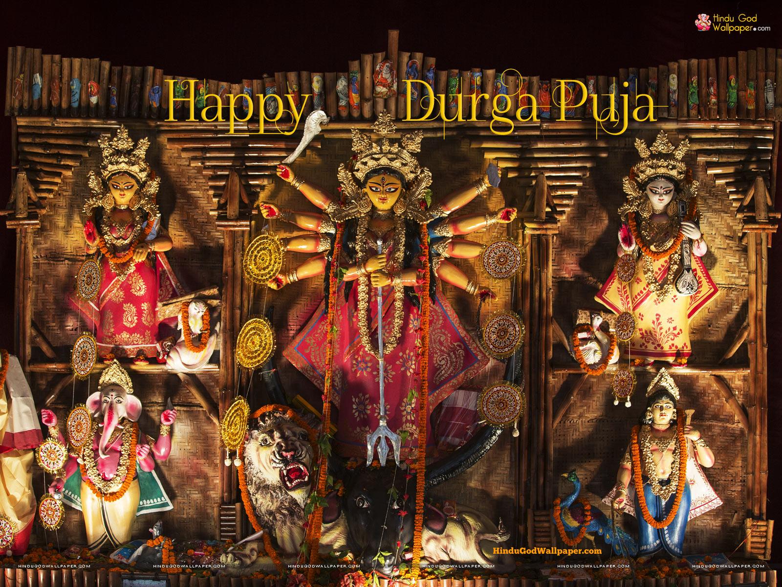 Free Hd Hindu God Wallpapers Durga Puja Wallpaper Full Size Hd Free Download