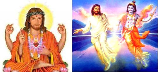Jesus Depicted As Hindu