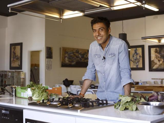 Celebrity chef Ranveer Brar launches his first book Come Into My