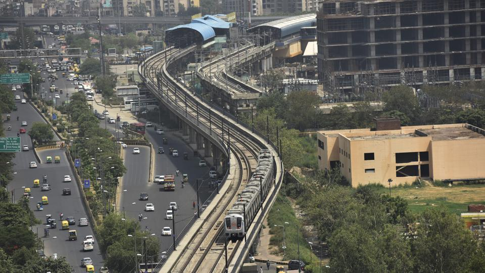 Noida First day of Delhi Metro fare hike sparks smart card recharge