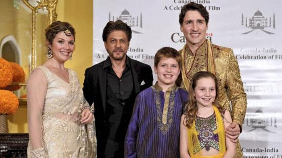 Justin Trudeau Meets Shah Rukh Khan Aamir Khan And The