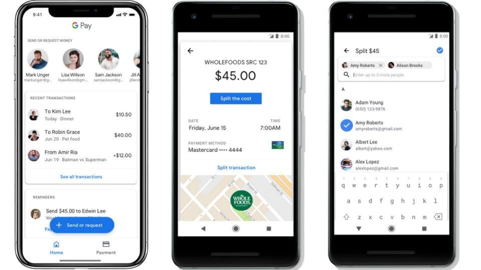 Google Pay users can now send and receive money tech Hindustan Times
