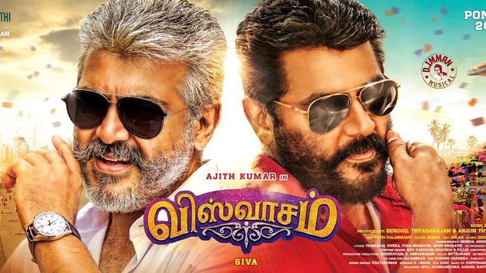 Ajith Kumar Hd Wallpaper Viswasam First Look Ajith S Double Role Is The Highlight