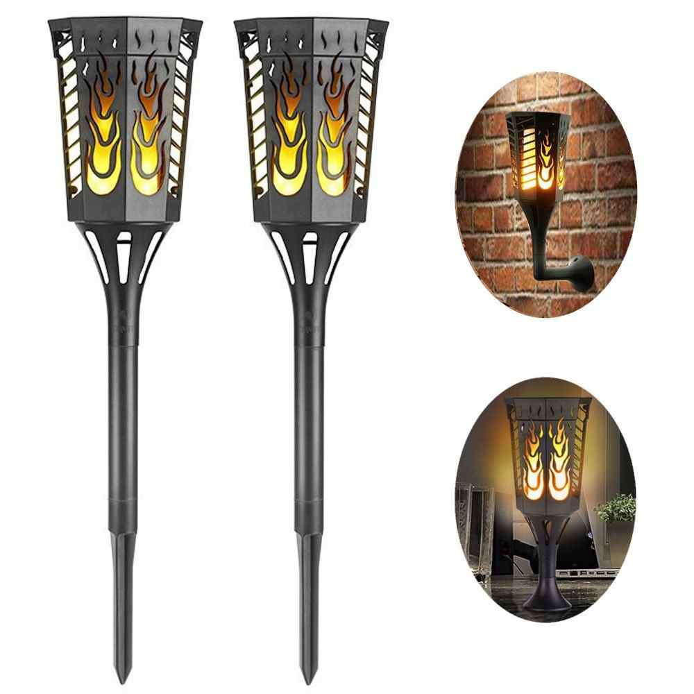 Outdoor Solar Torch Lights