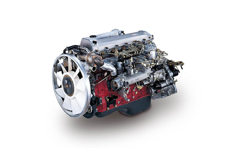 Industrial Diesel Engines Products  Technology HINO MOTORS