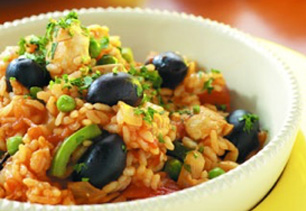 Easy Spanish Chicken Paella